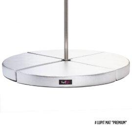 Pole Dance Matte Lupit Pole PREMIUM Silber
