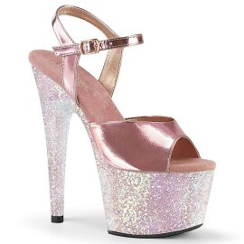 Pleaser Sandalette ADORE-709LG Rose-Gold Metallic Multi...
