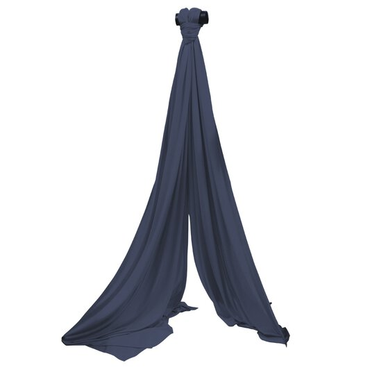 Aerial Silk Navy Blue