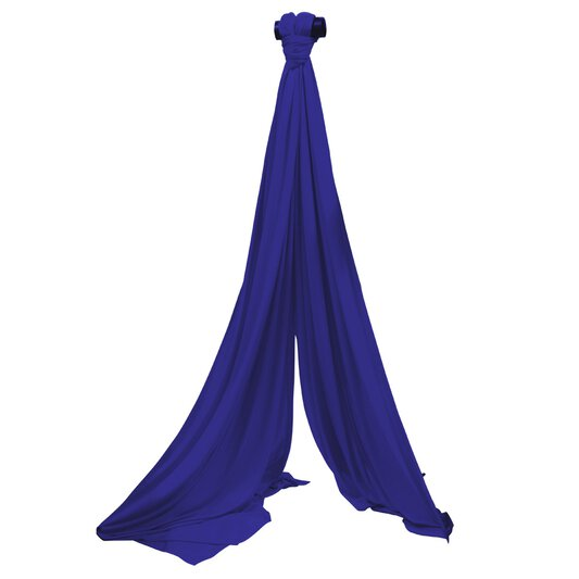 Aerial Silk Royal Blue