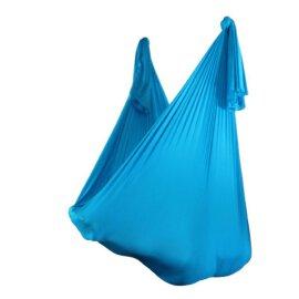Aerial Yoga Tuch Aqua-Blau 2,80 m breit