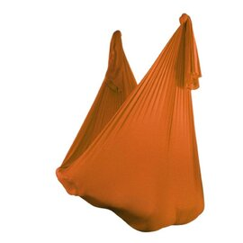 Aerial Yoga Tuch Orange 2,80 m breit