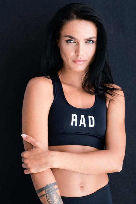 RAD Reflect Top Black
