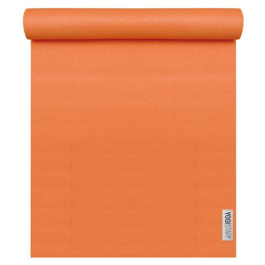 Yogamatte Basic Orange (183 cm x 61 cm x 4 mm)