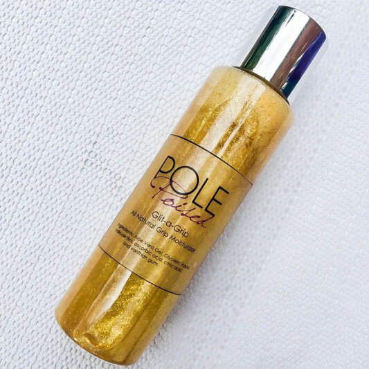Pole Poised Glit-a-Grip Gold 120 ml