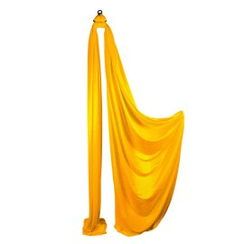 Firetoys Aerial Silk Vertikaltuch Golden Yellow