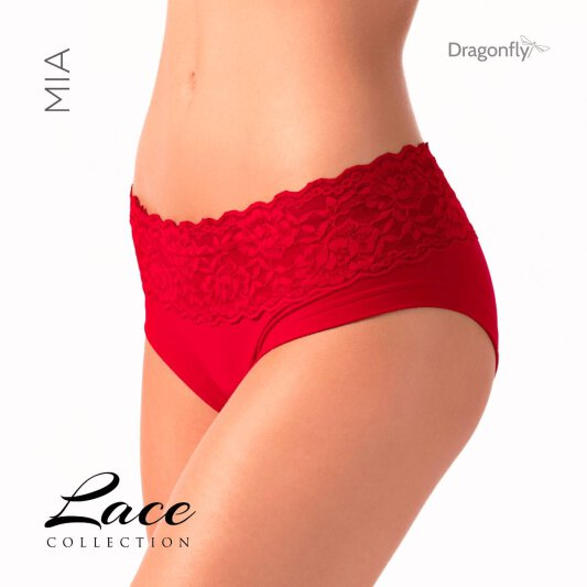 Dragonfly Shorts Mia Lace Red