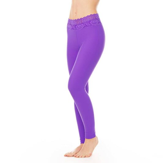 Dragonfly Leggings Adriana Lace Violet
