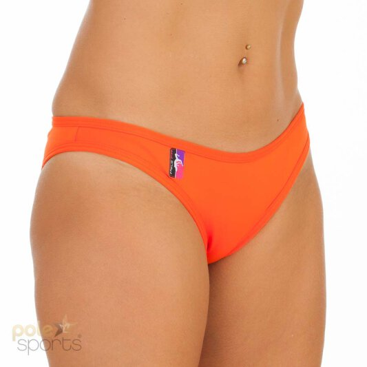 PoleFit Shorts Bitsy Bottom M Orange
