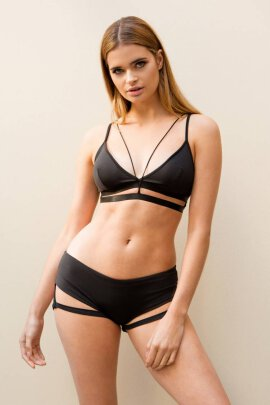 Lunalae Shorts Lure You Low Waist Schwarz M